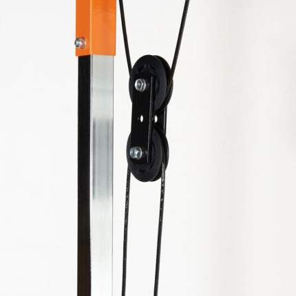 Стойка под штангу и тяга сверху DFC черный/оранж. (три короба) DCGE01