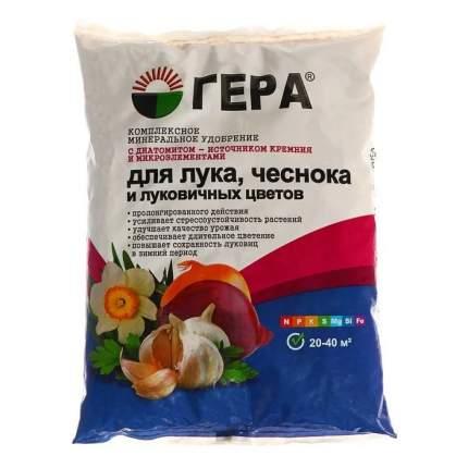 Минеральное удобрение комплексное Гера для Лука, чеснока, луковичных цветов 0,9 кг
