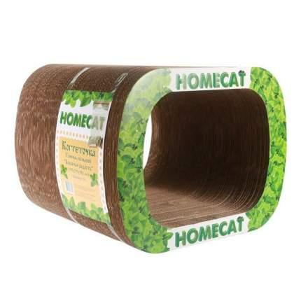 Когтеточка HOMECAT Кошачья радость, большая, тоннель, гофрокартон, 39х29,5х35см