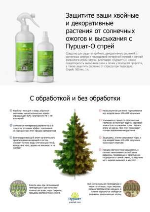 Средство защиты хвойных и декоративных растений от солнечных ожогов Пуршат-О, 0,5 л