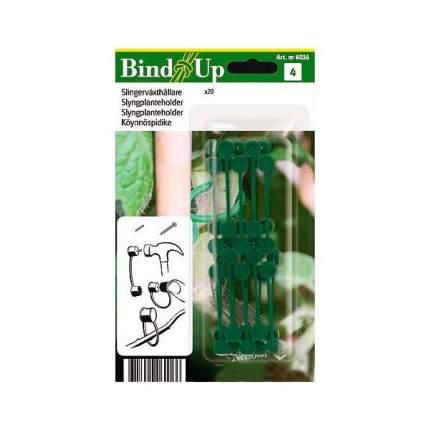 Крепеж пластмассовый Nelson Зеленый, 20 шт.