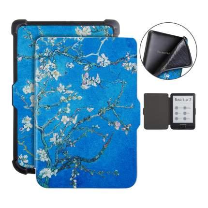 Чехол для электронной книги GoodChoice Pocketbook 616/627/632 Sakura