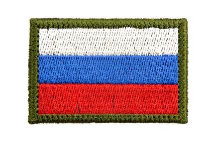 "Патч TeamZlo ""Флаг Триколор яркий 4*6"" (TZ0102)"