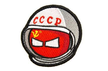 """Патч TeamZlo """"Колобок космонавт СССР"""" (TZ0091)"""