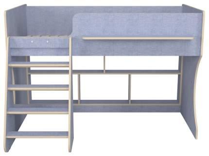 Детская кровать чердак Капризун Р436-лен голубой