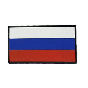 Патч ПВХ Флаг России (50х90 мм) Stich Profi BK (SP78610BK)