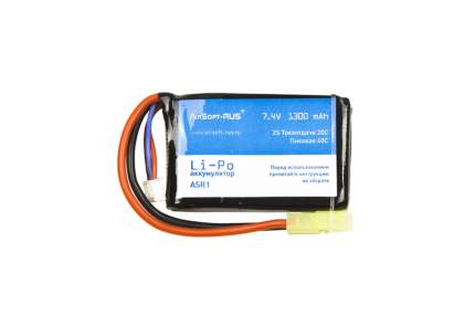 Аккумулятор Li-Po 7,4V 1300 mAh (ASR1)