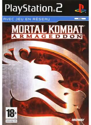 Игра Mortal Kombat: Armageddon для PlayStation 2