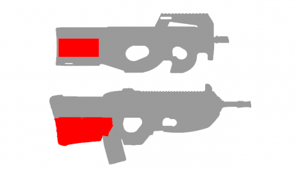 Готовая проводка СтрайкАрт P90 , FN2000 (в приклад) (SA-WG-07)