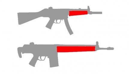 Готовая проводка СтрайкАрт MP5 , G3 (цевье) (SA-WG-06)