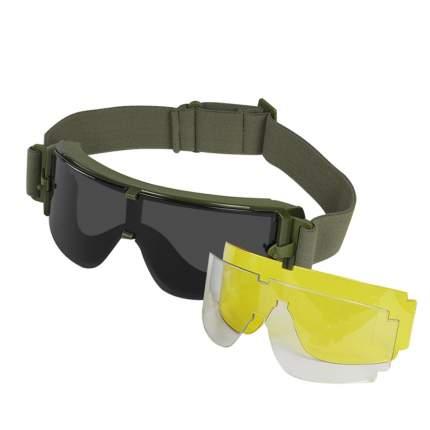 Очки защитные WoSporT Bolle X800 c комплектом доп. линз OD (MA-43-OD)