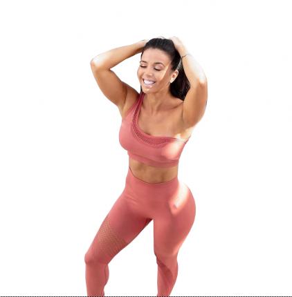 Спортивный костюм NovaSport Shop Sport, розовый, M INT