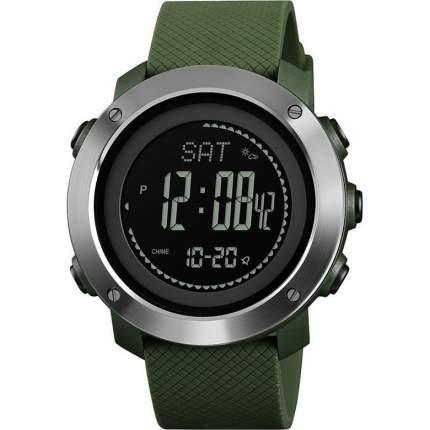 Часы с высотомером, барометром, термометром SKMEI 1418 - Олива