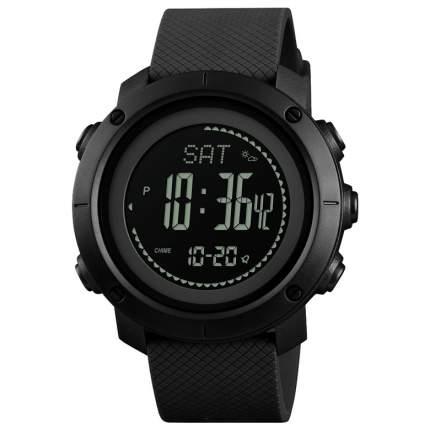 Часы с фитнес-трекером и компасом SKMEI 1427 - Черные