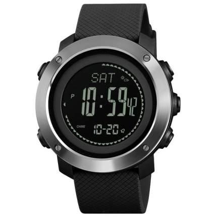 Часы с высотомером, барометром, термометром SKMEI 1418 - Серебристые