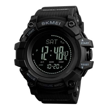 Часы с высотомером, барометром, термометром SKMEI 1358 - Черные