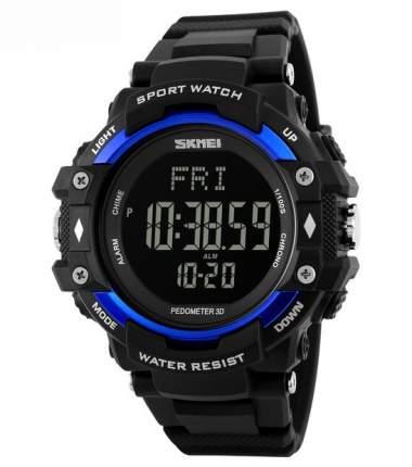 Часы с шагомером и пульсометром SKMEI 1180 - Синие