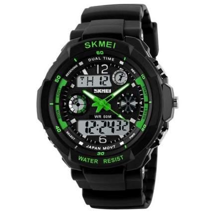 Часы SKMEI 0931 - Черные/Зеленые