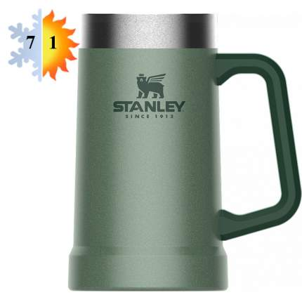 Термокружка пивная 0.7л STANLEY Adventure - Зеленая (10-02874-033)