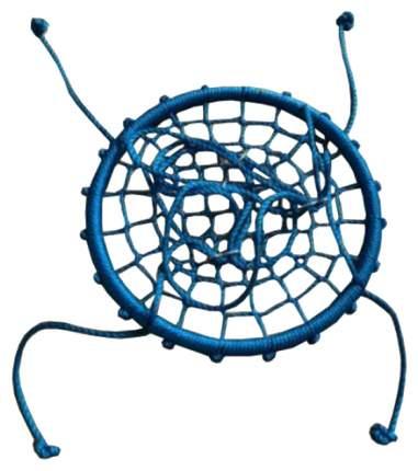 Качели детские Капризун Гнездо 60 см сине-цветные