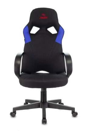 Кресло игровое ZOMBIE ZOMBIE RUNNER черный/синий