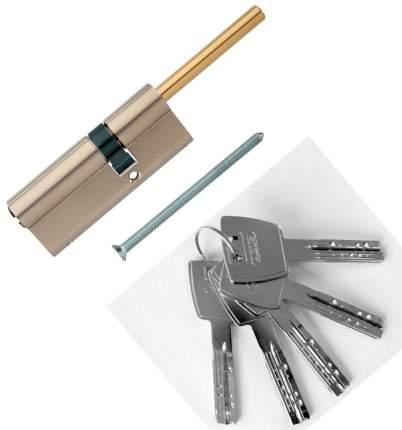 Европрофильный цилиндр ABUS X12R491-27 ключ/шток 50-30 (80 мм) NI (5 key)