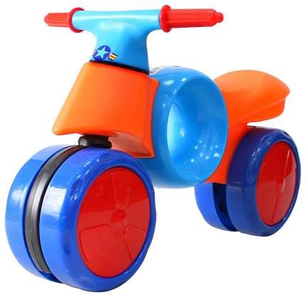 Беговел RT Kinder Way синий-оранжевый