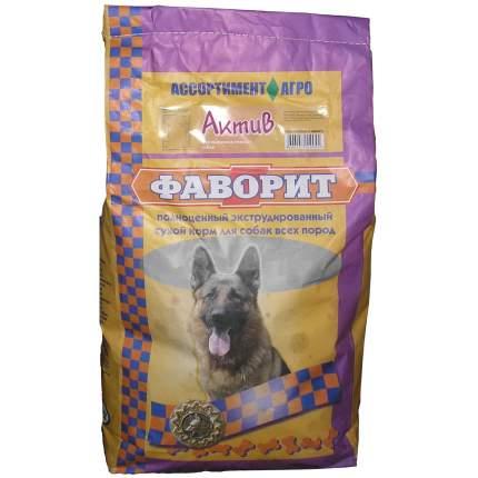 Сухой корм для собак Фаворит Актив, все породы, для активных, мясо, 13кг