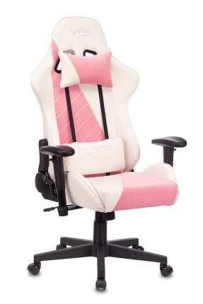 Кресло игровое ZOMBIE VIKING X белый/розовый