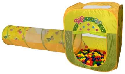 Игровой домик Ching-Ching CBH-23 с туннелем и 100 шариками