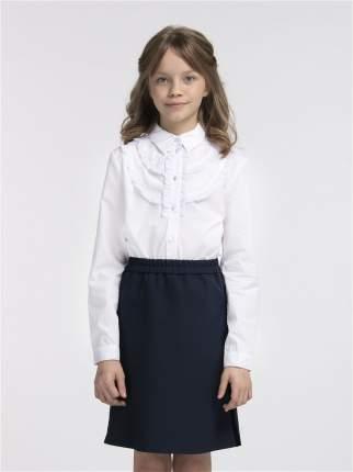Блузка для девочек SMENA цв.белый SCH19-19035B026.01-g-00 р.146/72