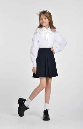Блузка для девочек SMENA цв.белый SCH19-19034B071.01-g-00 р.146/72