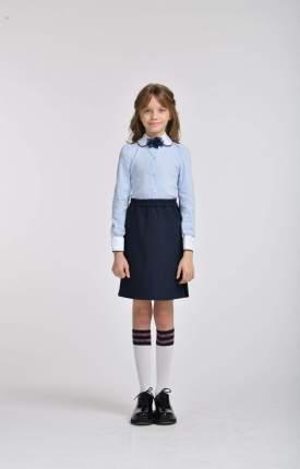Блузка для девочек СМЕНА белый SCH19-19029B070.01-g-D6 р.146/72
