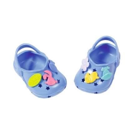 Обувь Zapf Creation для куклы Baby born Сандалии фантазийные синие