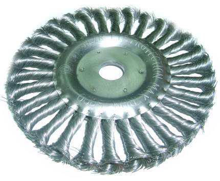 Щетка плоская витая для УШМ 22х125мм MGH Skrab 35421