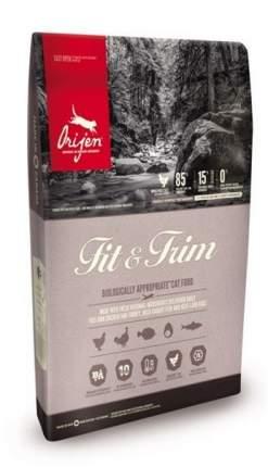 Сухой корм для кошек Orijen Fit & Trim 85/15, при избыточном весе, цыпленок, 0,34кг