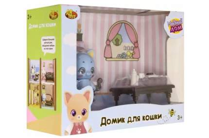 Уютный дом ABtoys Домик для кошки малый Гостинная