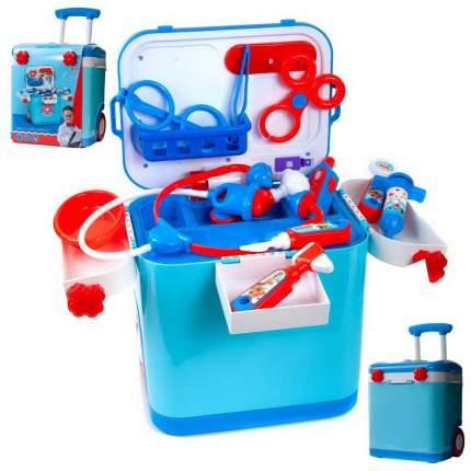 Набор игровой в чемодане Junfa toys Доктор, световые и звуковые эффекты