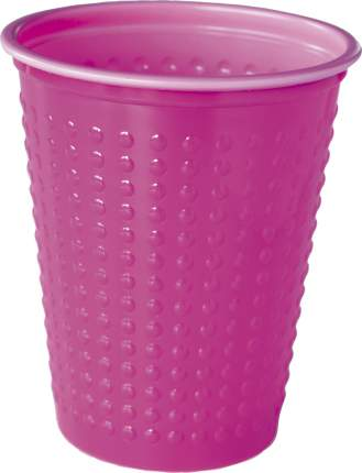 Стакан розовый 200 мл 40 штуки