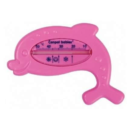"""Термометр для ванны Canpol """"Дельфин"""" арт. 2/782 цвет красный"""
