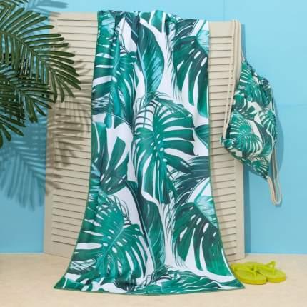 Полотенце пляжное в сумке Этель Тропики, 70x140 см, Этель