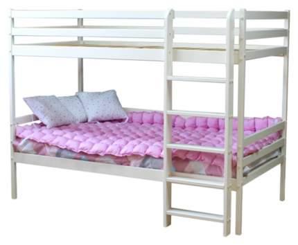 Двухъярусная кровать Можга Красная Звезда ваниль