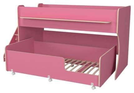 Двухъярусная кровать Капризун Р444-2 розовая