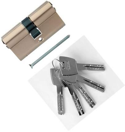 Европрофильный цилиндр ABUS X12R410 ключ/ключ 30-30 (60 мм) NI (5 key)