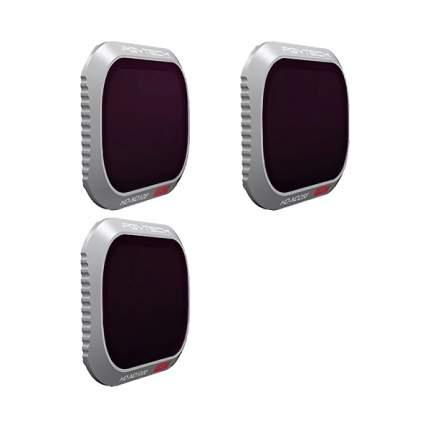 Набор оптических фильтров PGYTECH Filter для MAVIC 2 PRO - ND SET (Pro) (ND128 256 1000)