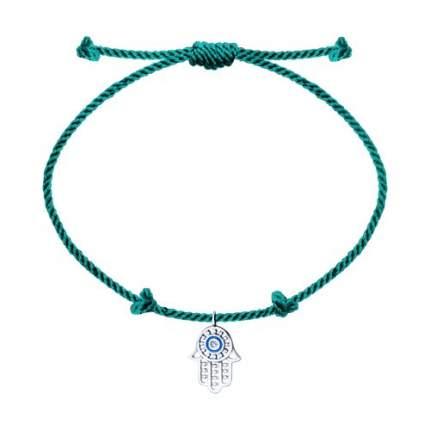 Браслет женский «Хамса» с серебром эмалью и фианитом SOKOLOV 94050503 р.OS
