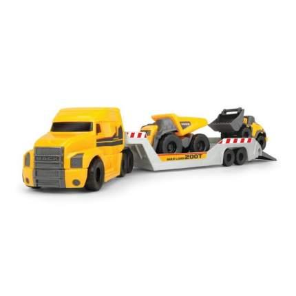 Набор машинок Dickie Toys Грузовик прицеп с 2 автомобилями Volvo