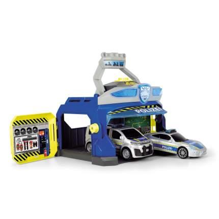 Полицейская станция Dickie Toys с 2 машинками Porsche Citro