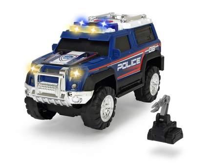 Полицейская машина Dickie Toys свет и звук синяя, 30 см