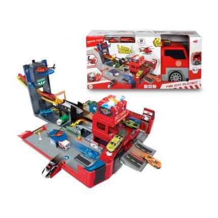 Машина Dickie Toys Складная пожарная станция-машина, 49 см